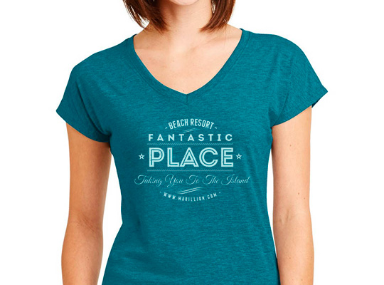 Fantastic Place Ladies TShirt