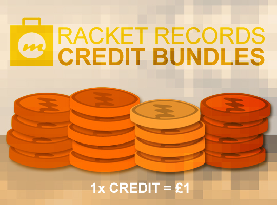 22 Racket Credits Credits Bundle