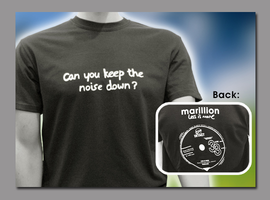 Keep the Noise Down T-Shirt (XX-Large)