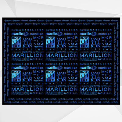 Marillion Logo Cotton Scarf